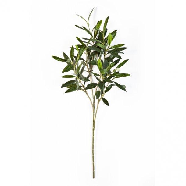 Kunstig olivengren - L: 45 cm